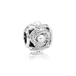 Charms Pandora - Połyskujący Węzeł Miłości 792105WCP
