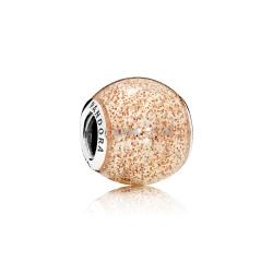Charms Pandora - Różowozłoty Brokat 796327EN145
