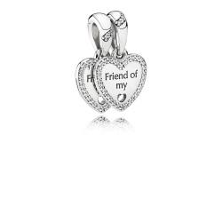 Zawieszka Pandora - Serce Przyjaźni 792147CZ