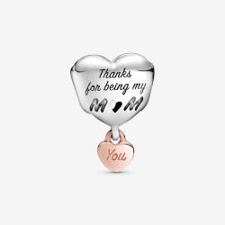 "Charms Pandora - Serce ""Kocham Cię Mamo"" 788830C00"
