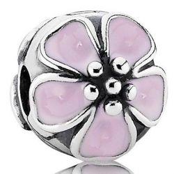 Klips Pandora - Różowy Kwiat Wiśni