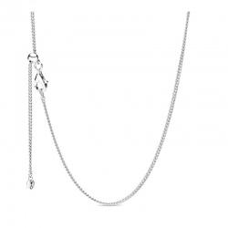 Srebrny łańcuszek Pandora 398283