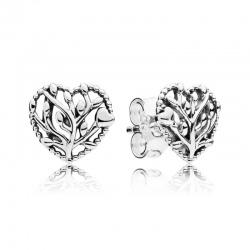 Kolczyki Pandora - Drzewo rodzinne i serduszko 297085