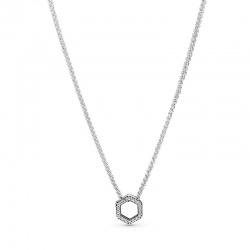 Naszyjnik Pandora - Lśniący plaster miodu 398787C01-50