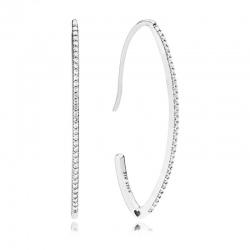 Kolczyki Pandora - Koła w kształcie haczyków 297691CZ