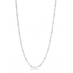 Naszyjnik łańcuszek z koralikami 397210-70