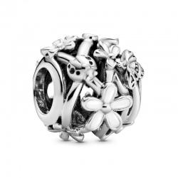 Charms Pandora - Ażurowe Białe Stokrotki 798772C01
