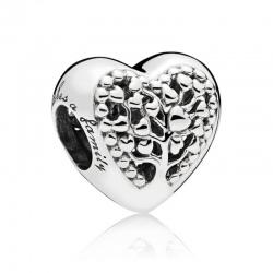 Charms Pandora - Serce z drzewem rodzinnym 797058