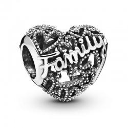 Charms Pandora - Rodzinne serce 798571C00