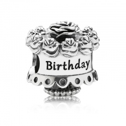 Charms Pandora - Tort Happy Birthday