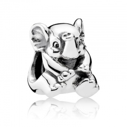 Charms Pandora - Szczęśliwy Słoń 791902