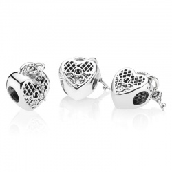Charms Pandora - Różowa wieczna miłość 797655