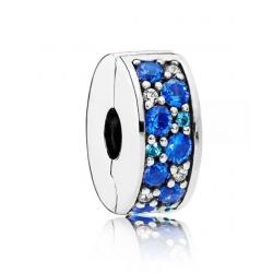 Klips Pandora - Niebieska mozaika 791817NSBMX