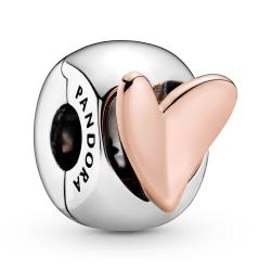 Klips Pandora - Asymetrycznym sercem 788697C00