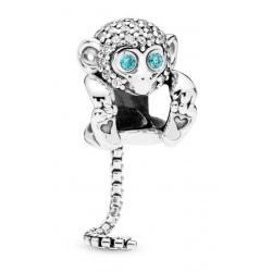 Zawieszka Pandora - Błyszcząca małpka 798054CZ