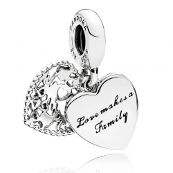 Charms Pandora - Rodzina Przede Wszystkim 796459EN28