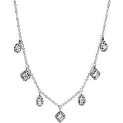 Srebrny naszyjnik Pandora - Liść 398254-70
