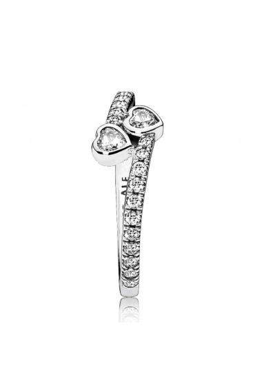 Srebrny pierścionek Pandora - 191023CZ