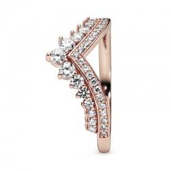 Pierścionek Pandora Rose - Wishbone cyrkonia sześcienna 187736CZ