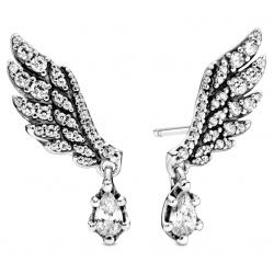 Kolczyki Pandora - Wiszące skrzydła anioła 298493C01