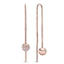 Kolczyki Pandora Rose - Cyrkonia sześcienna 288325CZ