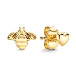Kolczyki Pandora Shine - Pszczoła i serduszko 268648C00