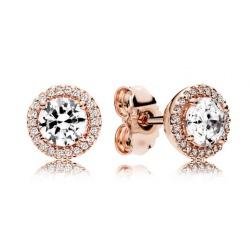 Kolczyki Pandora Rose - Z cyrkoniami sześciennymi 286272CZ