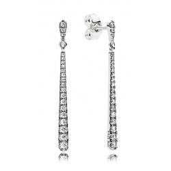 Kolczyki Pandora - Z lśniącymi kamieniami 296351CZ