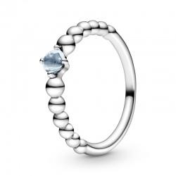 Pierścionek Pandora - Turkusowy błękit 198867C01