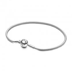 Srebrna bransoletka Pandora - Me o splocie wężykowym 598408C00