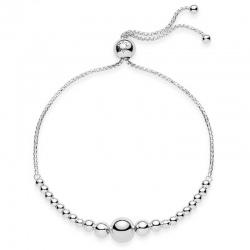 Srebrna bransoletka Pandora - Koraliki 597749