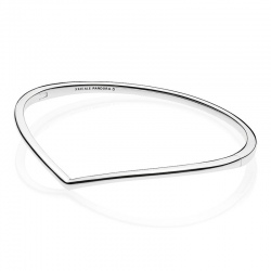 Srebrna bransoletka Pandora - Bangle Wishbone 597791