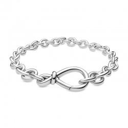 Srebrna bransoletka Pandora - Węzeł nieskończoności 598911C00