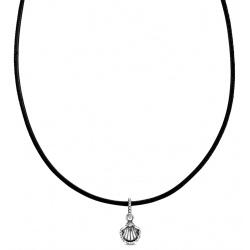 Skórzany Choker Pandora - Muszla 398966C01