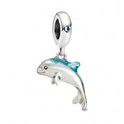 Zawieszka Pandora - Lśniący delfin 798947C01