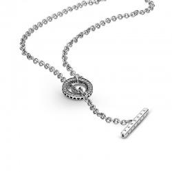 Naszyjnik Pandora - Obręcz pavé 399050C01