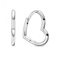 Kolczyki Pandora - Z motywem serc 298307C00