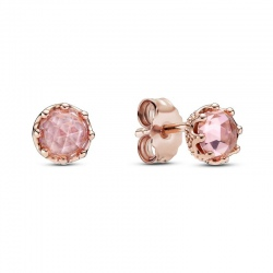 Kolczyki Pandora Rose - Różowe korony 288311C01