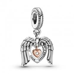 Charms Pandora Club 2021 - Serce i skrzydła anioła 789296C01