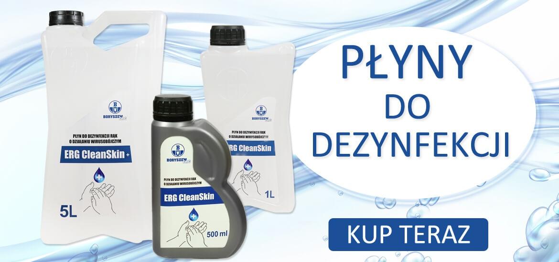 Płyny do dezynfekcji